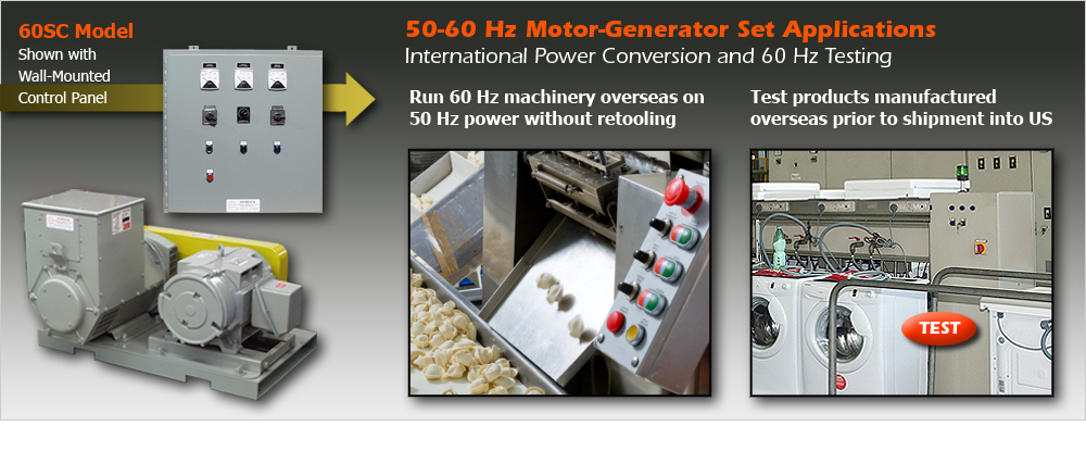 Motor generators frequency converters control panels from for 400 hz motor generator