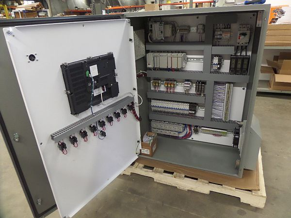 Main Control Panel ground water remediation project