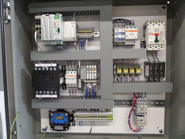 Remote Control Panel for water remediation project