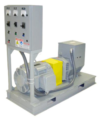 The Horlick Company ships a Model 60SC, frequency conversion motor